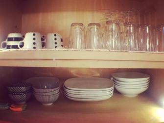 Location meublée vaisselle