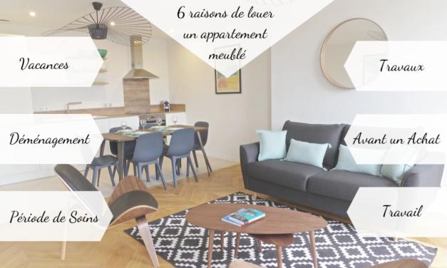 Location : Six raisons de louer un appartement meublé