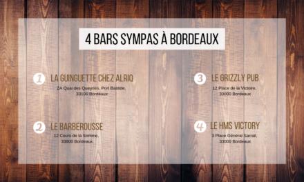 Côté Bar : La sélection sympa à Bordeaux !