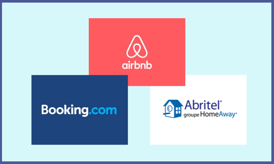 Location en ligne : Airbnb, Booking et Abritel
