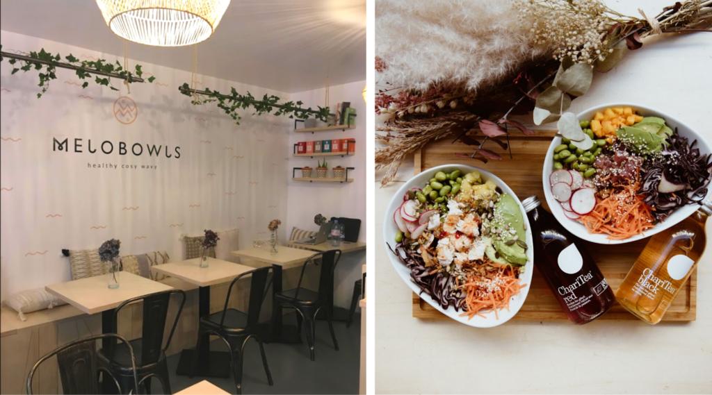 restaurant sain/healthy - Melobowls