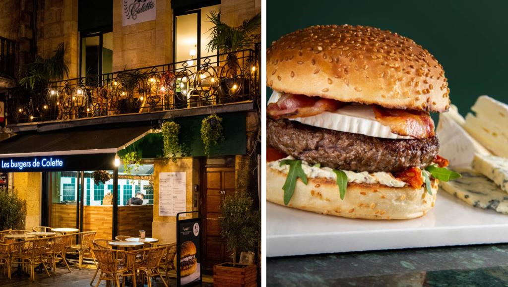 Burger : notre top 10 à bordeaux : les burgers de Colette