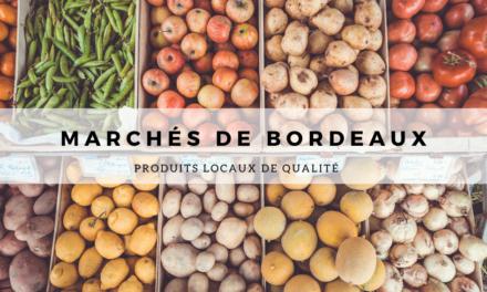 Marchés de Bordeaux : produits locaux de qualité