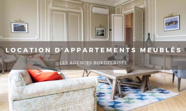 Location d'appartements meublés : Les agences