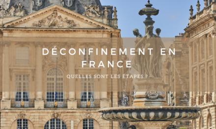 Déconfinement d'avril sur le territoire Français