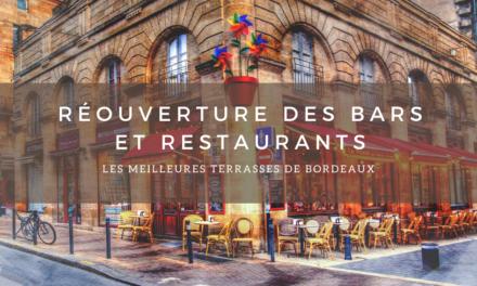 Réouverture des bars et restaurants : les meilleures terrasses à Bordeaux.