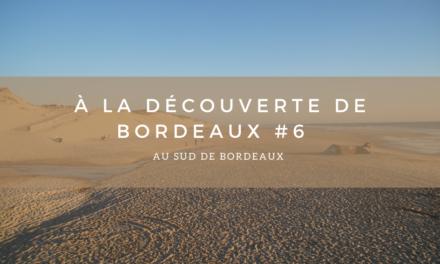 A la découverte de Bordeaux #6 – Au sud de Bordeaux